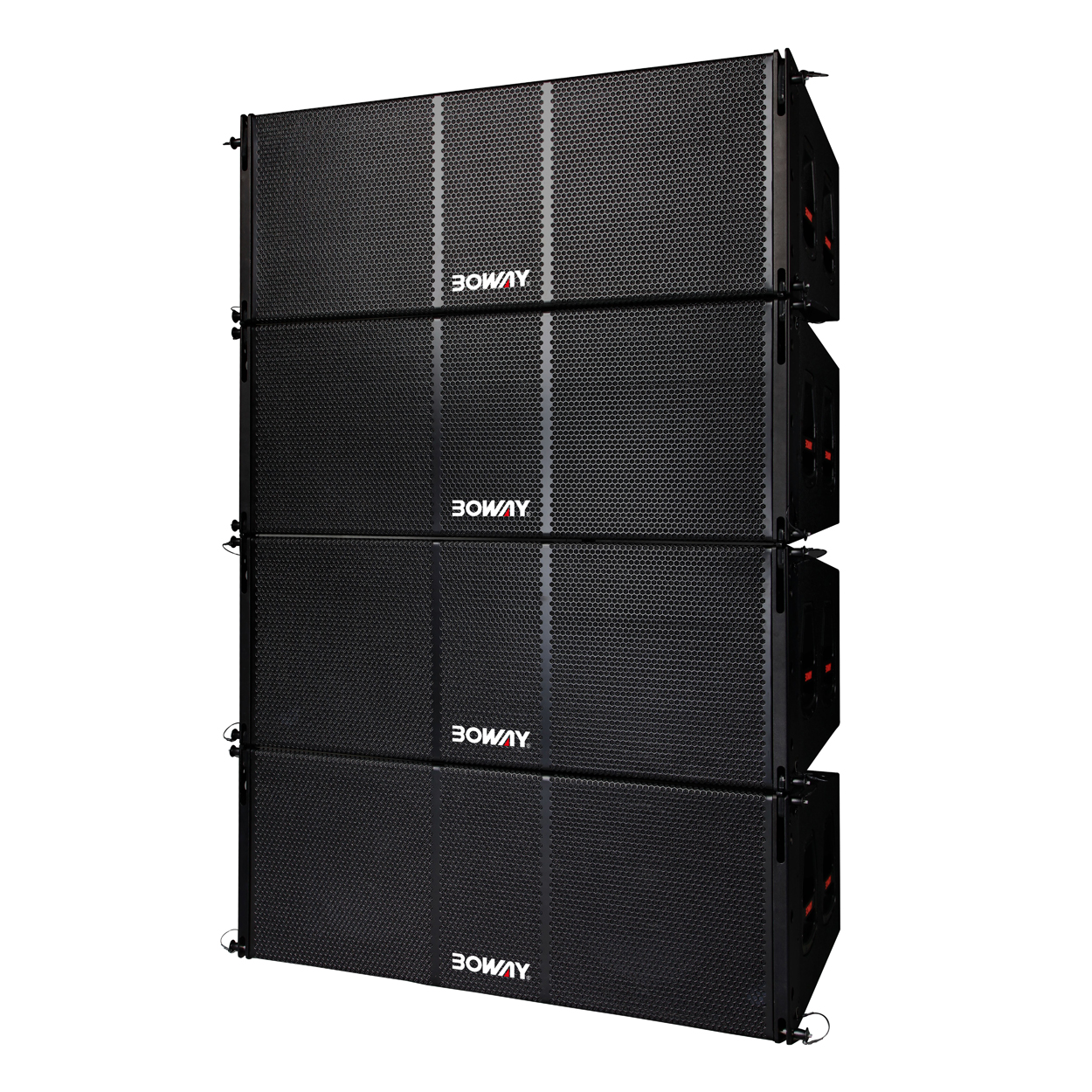 "BW-2215 Dual 15"" two way line array speaker"